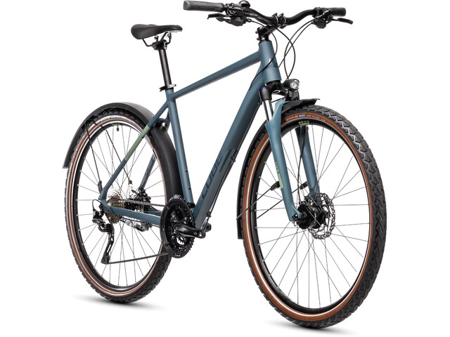 Cube Nature Pro Allroad blue'n'green